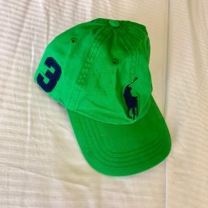 Ralph Lauren green hat